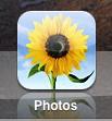 ipad icons photos