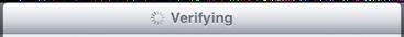 ipad mail settings verifying settings