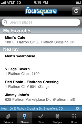 iphone foursquare add venue 1