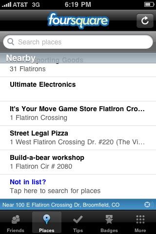 iphone foursquare add venue 2