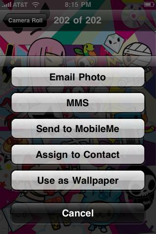 iphone gelaskins setting wallpaper