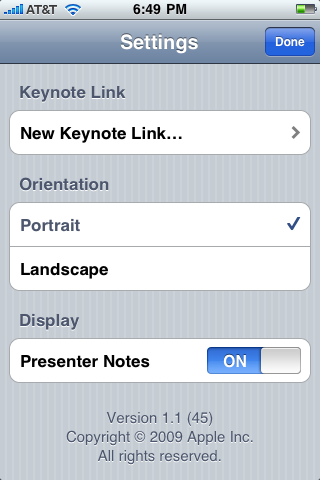 iphone keynote remote 2