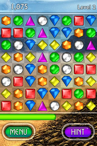 iphone popcap bejeweled