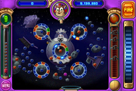 iphone popcap peggle