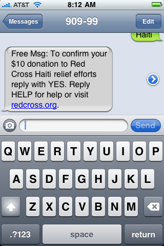 iphone text txt message haiti 7