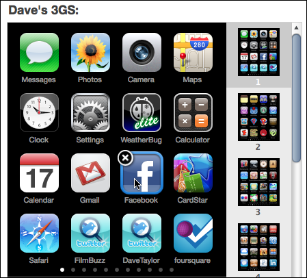 How can i reorganize or reorder the apps on my apple for Wallpaper for iphone 3gs home screen
