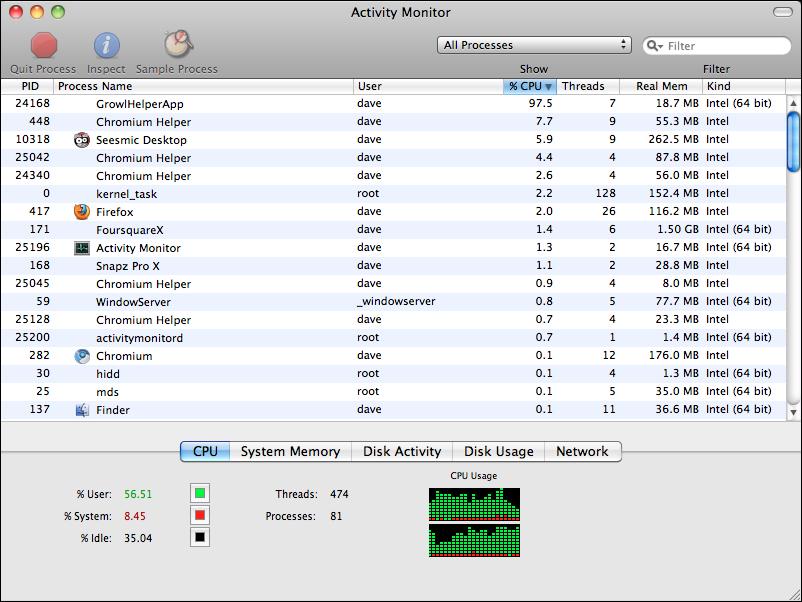 mac activity monitor cpu usage