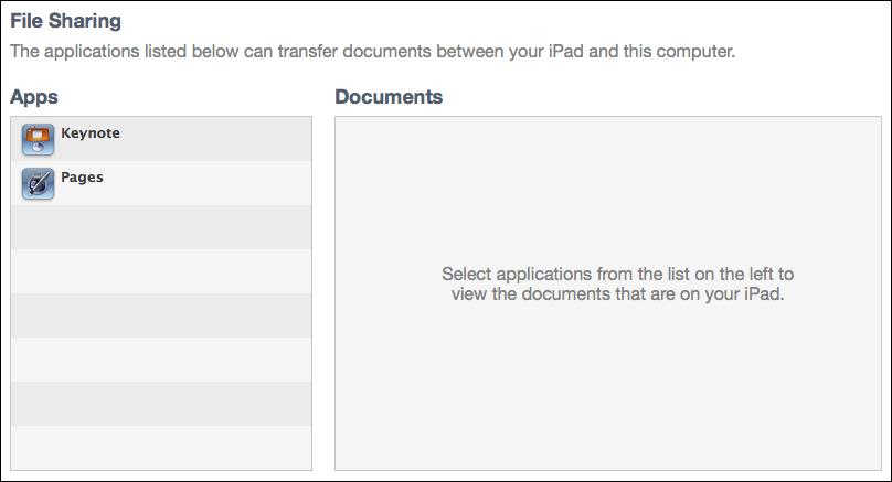 mac itunes ipad manage apps 2