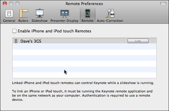 mac keynote preferences 2