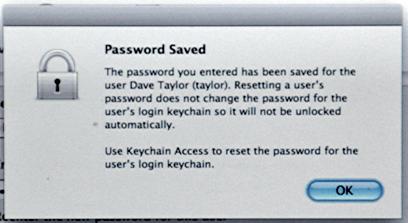 mac keychain password problems