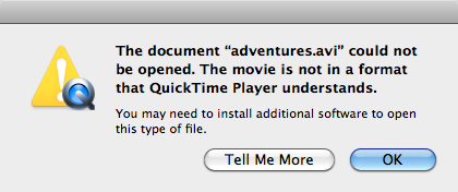 How do I play Xvid video on a Mac when Quicktime fails