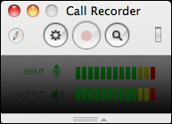 skype call recorder window