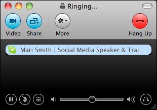 skype ringing