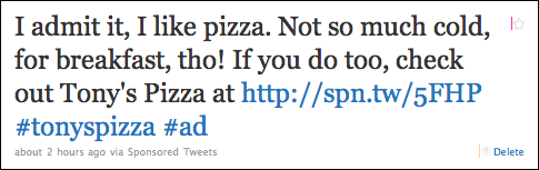twitter ad sponsored tweet 1
