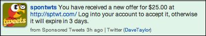 twitter ad sponsored tweet 2
