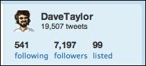 twitter user stats