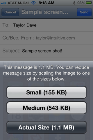 How do I email an Apple iPhone screen shot? - Ask Dave Taylor