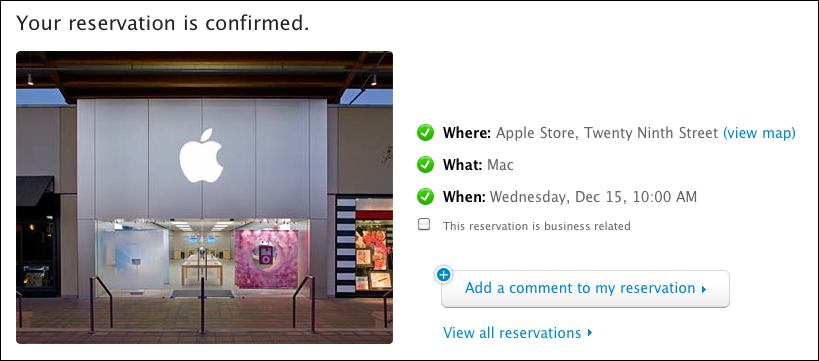 how to make an appointment at the apple store also feature all