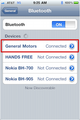 chevy iphone bluetooth pairing 10