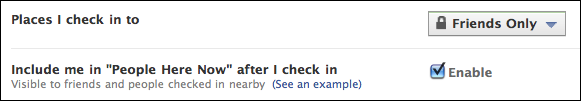 facebook account privacy settings custom places i check in