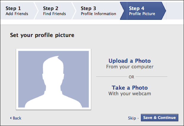 facebook create new account 6
