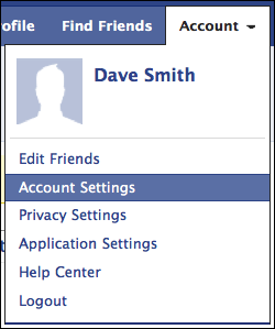 how to get my facebook account