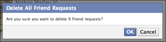 how to see deleted friend requests on facebook
