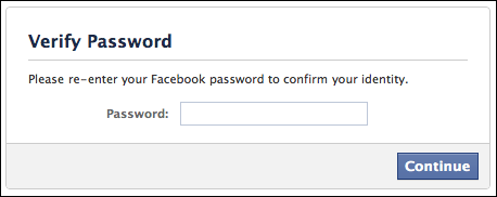 facebook download personal information 7