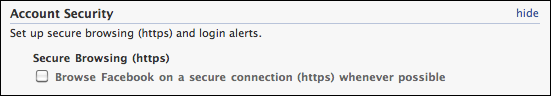 facebook https secure browsing 3