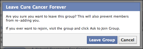 facebook quit group 6