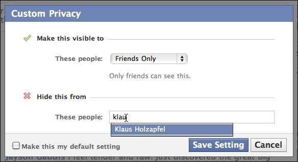 facebook status update friends only 5