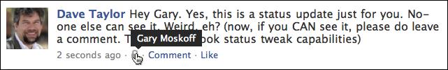facebook status update friends only 7
