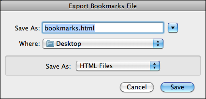 firefox safari bookmarks organize 4