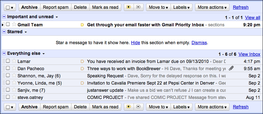 "How do I enable ""Priority Inbox"" in Gmail?"