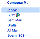 google mail gmail disable buzz 1