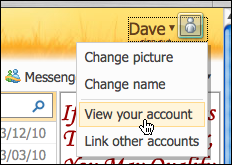 change your msn name