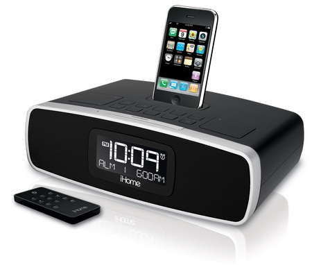ihome ip90 ipod iphone clock radio