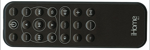 ihome ip90 remote control