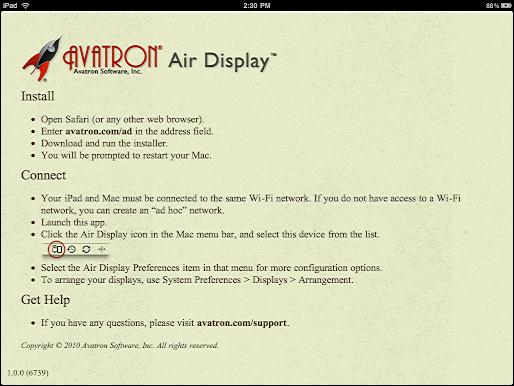 ipad air display 1