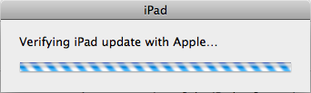 ipad firmware software update 11
