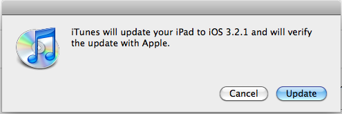 ipad firmware software update 5
