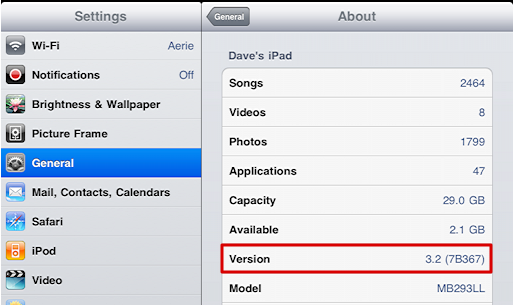 How do I update the firmware on my Apple iPad?  Ask Dave Taylor