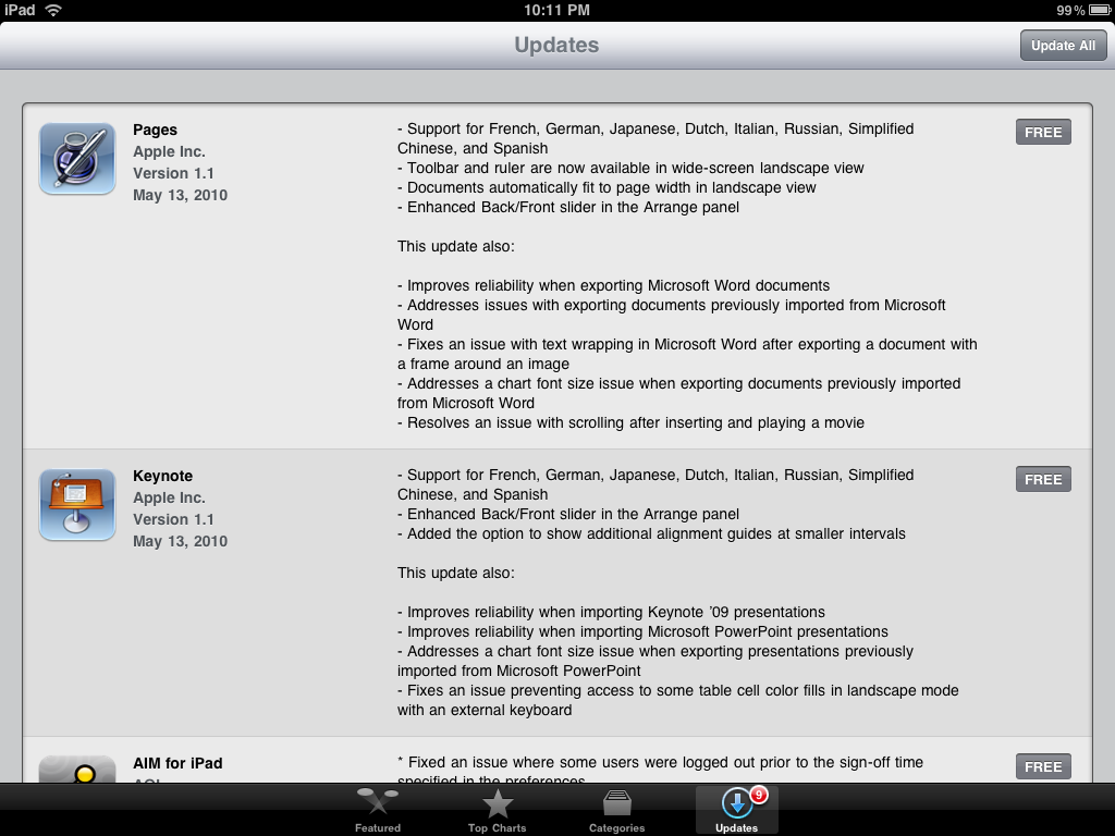 ipad update apps 3