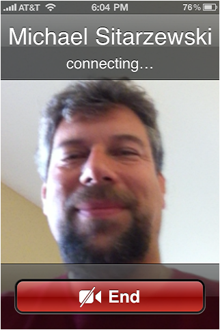 iphone 4 facetime 4