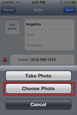 iphone assign contact photo 89