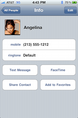 iphone assign contact photo 93