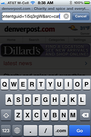 How do I copy / paste a Web URL on my iPhone? - Ask Dave Taylor
