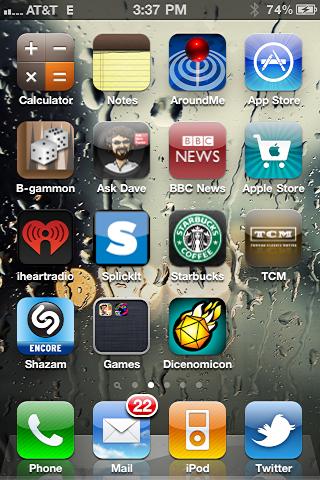 iphone create app folder 6