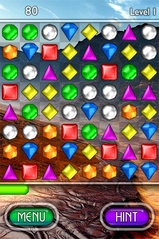 iphone fave games bejeweled
