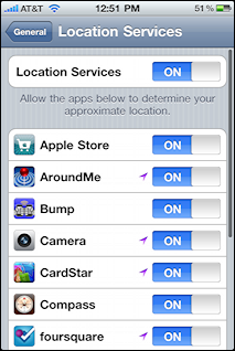 iphone ios4 location services 3